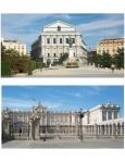 Palais royal et Opéra de Madrid