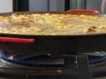 Etape 14 de la recette de paella mixte