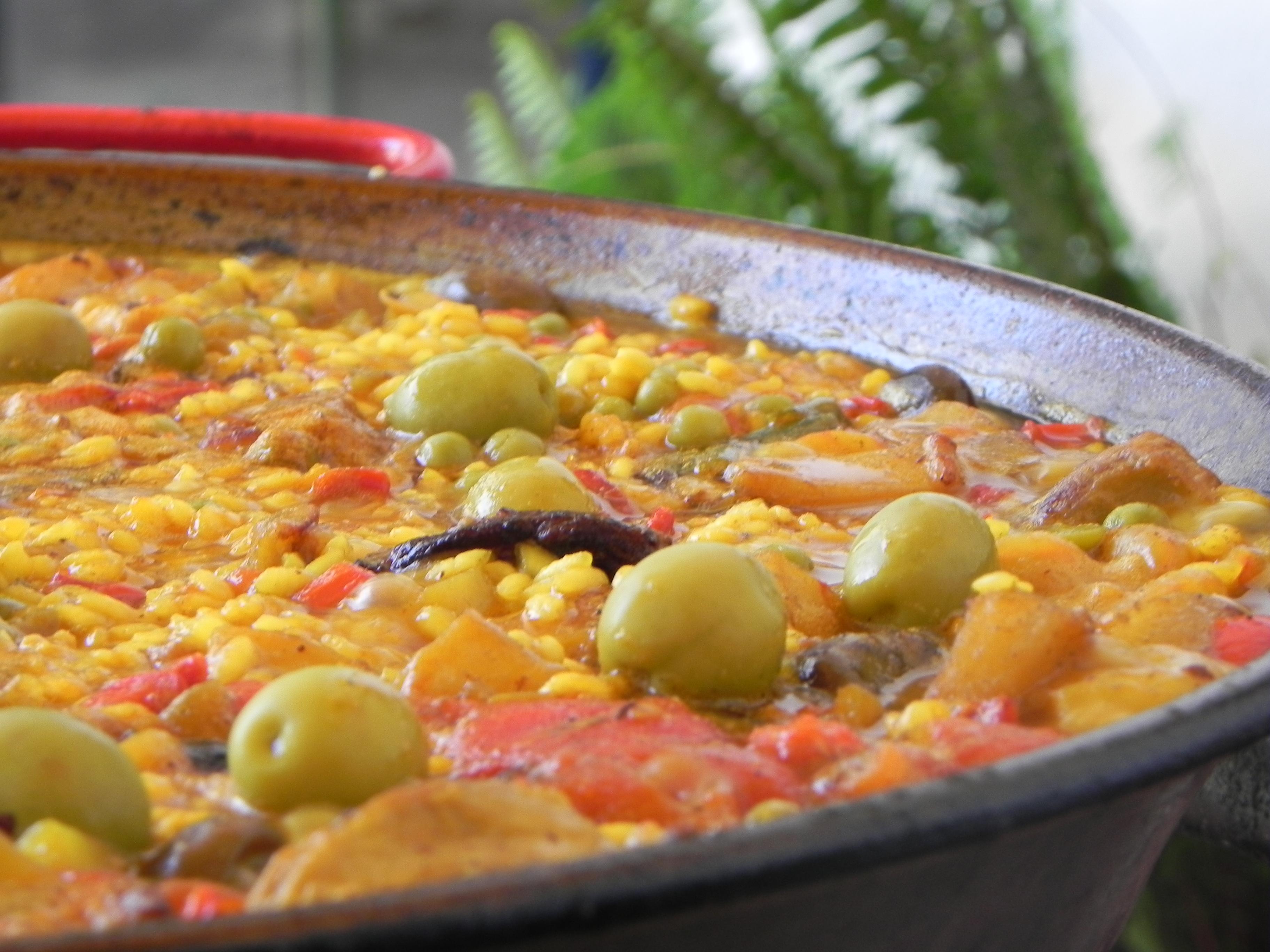 La recette de paella mixte a l 39 heure espagnole - Recette de la paella espagnole ...