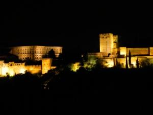 Alhambra de nuit, Grenade